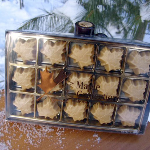 15 Count Box of Maple Leaf Candies
