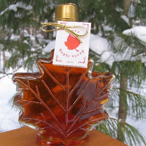 250mL Leaf Bottle of Syrup
