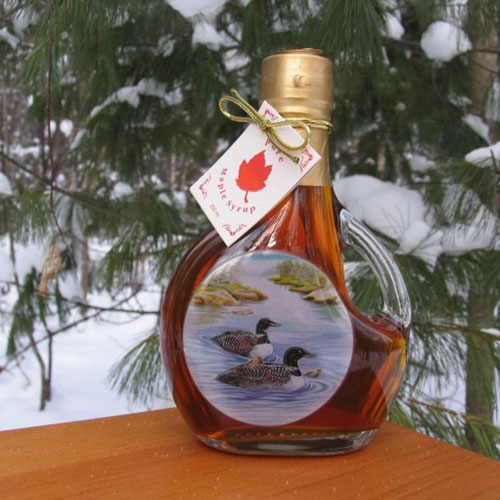 250 ML Loon Bottle of Syrup