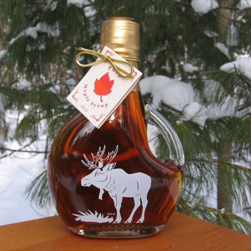 250mL Moose Bottle of Syrup