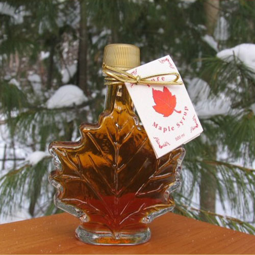 50 ML Leaf Bottle of Syrup