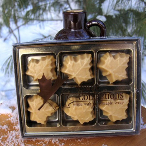 6 Count Box of Maple Leaf Candies