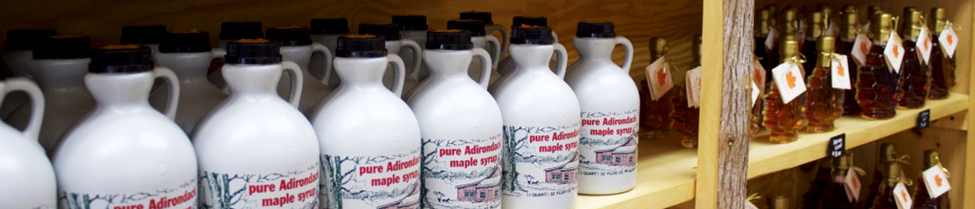 Some of the Finest Maple Syrup in the Adirondacks